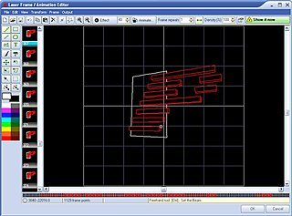 Laser Frame Editor